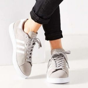 Adidas Campus Gray Sneakers Shoes